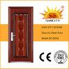 Seguridad moderna de alta calidad de garaje Puerta de acero (SC-S002)