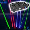 Etapa Disco DMX RGB no Mudanza luz láser Araña Cabeza
