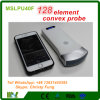 Nuevo iPhone 128 Elemento y androide sin hilos ultrasonido sonda convexa