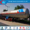 Primera Clase 50000L GLP Cisterna Semirremolque Asme chino estándar de alta presión tubo de gas de llenado del remolque Q370r GLP Cilindro