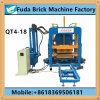 Machine de effectuer de brique concrète automatique de vente chaude, machine de effectuer de brique hydraulique de machine à paver de couleur