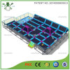 Grand lit en trampoline intérieur avec Salm Dunk