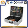 Caja de herramientas de aluminio portátil con cerradura duro