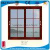 Hölzerne Korn-Farben-Aluminiumrahmen Thermisch-Brechen Aluminiumfenster