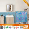 交響曲青いカラー浴室の壁のガラスモザイク(H420046)