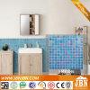 Symphonie-blaue Farben-Badezimmer-Wand-Glasmosaik (H420046)