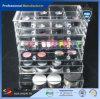 ODM 3 AcrylProduct van organisator-TGV van de Make-up van Whosesale van de Lade het Duidelijke Acryl Kosmetische