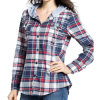 2017 Spring Fashion Mesdames Tops Plaid chemisier occasionnels de coton