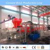 Bloco de cimento automático que faz a máquina de molde do tijolo da maquinaria/Paver