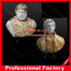 Buste en marbre Statue de la tête pour la décoration d'accueil