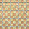 13 facetas Espejo de diamante Mosaico cuadrado de vidrio