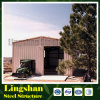 Сарай гаража пакгауза стальной структуры полуфабрикат
