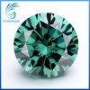 12mm 큰 크기 6cts 화려한 커트 진한 녹색 다채로운 Moissanite 다이아몬드의 둘레에