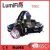 nachladbarer CREE 2X 18650 Xm-L T6 LED Scheinwerfer T90c