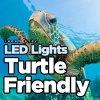 As luzes de LED Fwc Aprovado 100W, Tartaruga Iluminação amigável, utilização subaquática