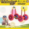 Трактор игрушки блоков высокого качества DIY цветастый воспитательный