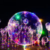 Caliente la venta de globos de helio Bobo Navidad LED de luz LED de la Cadena Globo