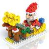 크리스마스를 위한 최고 건축 도매 싸게 지적인 구획 장난감