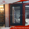 Aluminiumprofil Wärme-Isolierung Flügelfenster-Fenster mit doppeltem Hartglas