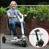 В сложенном виде балансировки нагрузки на электрический двигатель мобильности для скутера