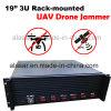 3U de alta potencia vehículo Rack-Mounted Uav de seguridad de los aviones teledirigidos Jammer