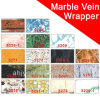 Foska selbstklebende Marmorader Belüftung-Buch-Verpackung