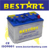 58024 12V 80ah Dry Charged DIN Standard Car Battery