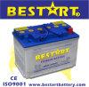 58024 12V 80Ah cargados en seco de batería de coche estándar DIN.