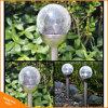 Changement de couleur Pelouse lumière solaire en verre pour l'extérieur décoratif de jardin