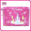 Fiaba morbida Pattern Trifold Kids Wallet Hot Pink Gift di Nylon per Holiday Birthday
