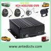 des CCTV-4CH Installationssätze Fahrzeug-Auto-DVR mit beweglichem DVR und Kamera