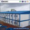 Casa pré-fabricada do edifício Prefab da construção do frame de aço de baixo custo