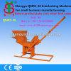Shengyaの高い評判の小さいセメントの連結の煉瓦作成機械Qmr2-40手動フライアッシュの煉瓦作成機械