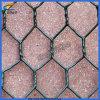Cesta de pedra revestida do PVC Gabion