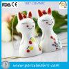 Ornamento d'attaccatura del gatto di ceramica giapponese Charming di sorriso