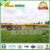 40FT 3 ou 2 eixos dobram o reboque do leito do transporte de recipiente dos pneus