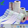 Etiquetas permanentes resistentes de alta temperatura feitas sob encomenda da embalagem da caixa da cor cheia