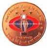 Moneda de cobre del desafío de la estrella