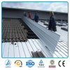 Placa de acero de acero acanalada galvanizada de hoja del material para techos