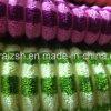 100% coton côtelé Bande de tissu de housse de coussin