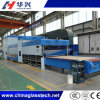 세륨 Approved Force Convection Flat 또는 Bent Tempered Glass Production Plant