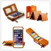 Caisses de cuir de conception de livre pour Samsung/la couverture téléphone de l'iPhone 6/6s
