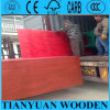 El pino del color rojo hizo frente a la madera contrachapada con pegamento de WBP