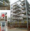 Système de stationnement de voiture à quatre ou six niveaux