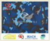 300t Poly Pongee Navy Style Camouflage Printing Fabric (ZCBP138)
