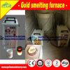 Fonditore dell'oro della macchina della fornace di prezzi bassi per fusione dell'oro nella barra di oro
