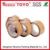 48mm*66m Tan BOPP de Band van de Verpakking van de Kleur met Goede Adhesie