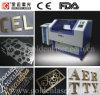 laser Brass Cutting Machine (GJMSJG-6040DT) de 500W YAG