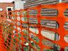 HDPEのプラスチックオレンジ警告の安全塀