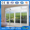 現代デザインオーストラリアの標準二重ガラスアルミニウム開き窓のドア
